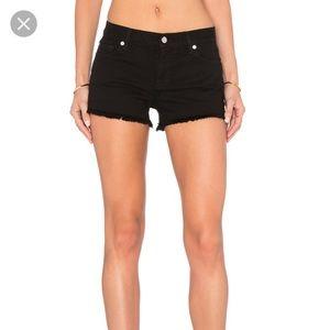 Victoria Secret PINK Black Cut Offs Jean Shorts